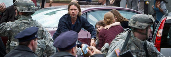 Brad Pitt World War Z CinemaCon 2013: Paramount Shows Off Star Trek, World War Z And Pain & Gain