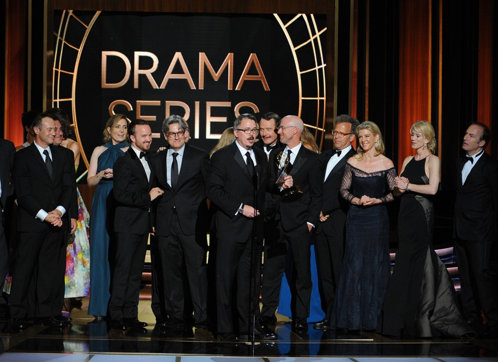 Breaking Bad and Modern Family Win Big at 66th Primetime Emmy Awards Breaking Bad and Modern Family Win Big at 66th Primetime Emmy Awards