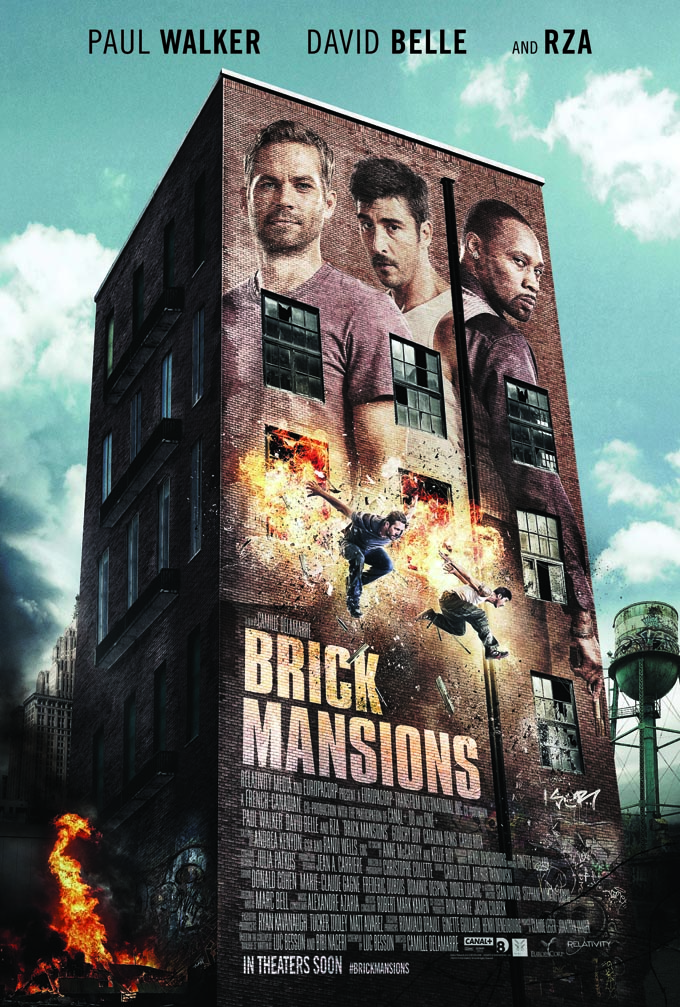 Brick Mansions Builds Thrilling Stunts in New Trailer and Poster