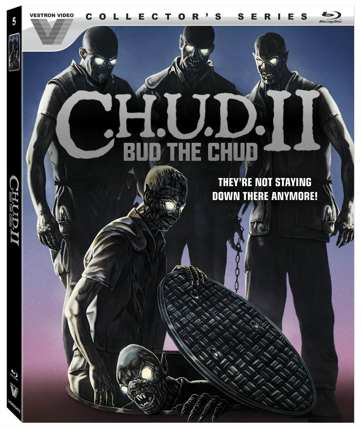 C.H.U.D. II Blu-ray Cover Art