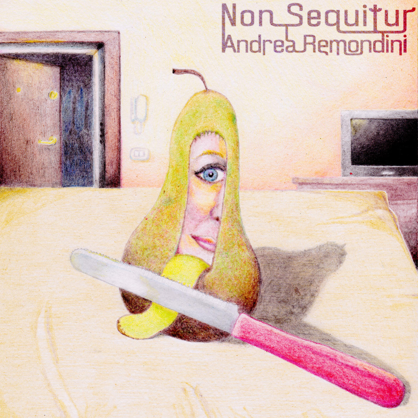 CD cover Andrea Remondini Non Sequitur Album Review