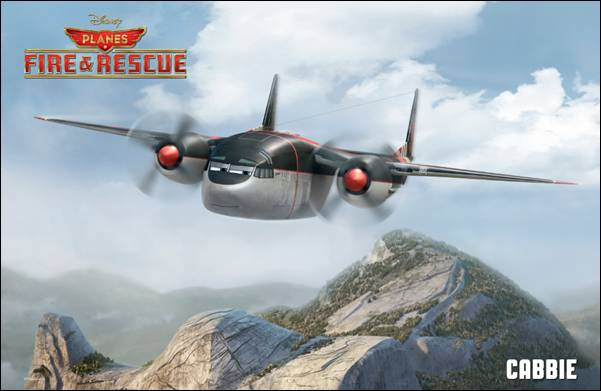 Cabbie Planes Poster Planes: Fire & Rescue New Character Posters Take Flight