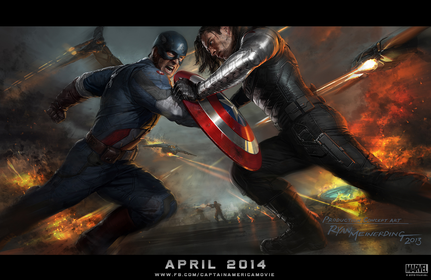 Captain America 2  Concept Artwork