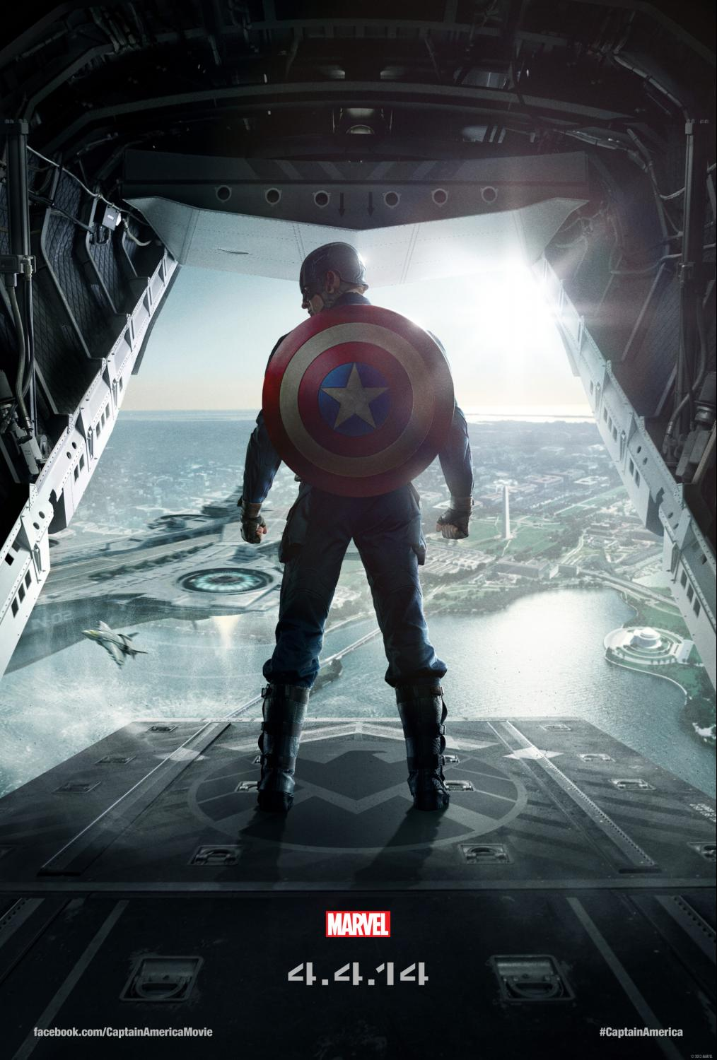 Captain America: The Winter Soldier Chris Evans One Sheet