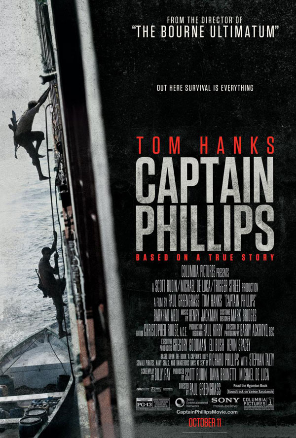 Captain Phillips Poster Captain Phillips Movie Review