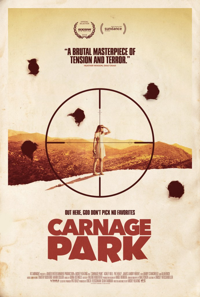 Interview Mickey Keating and Ashley Bell Talk Carnage Park (Exclusive)