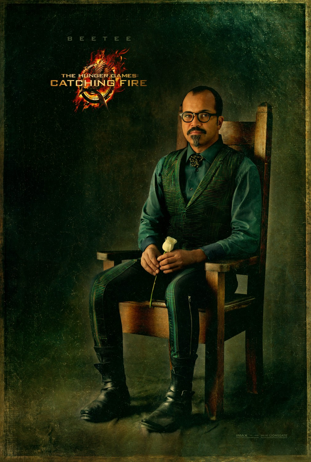 Catching Fire Beetee Character Poster
