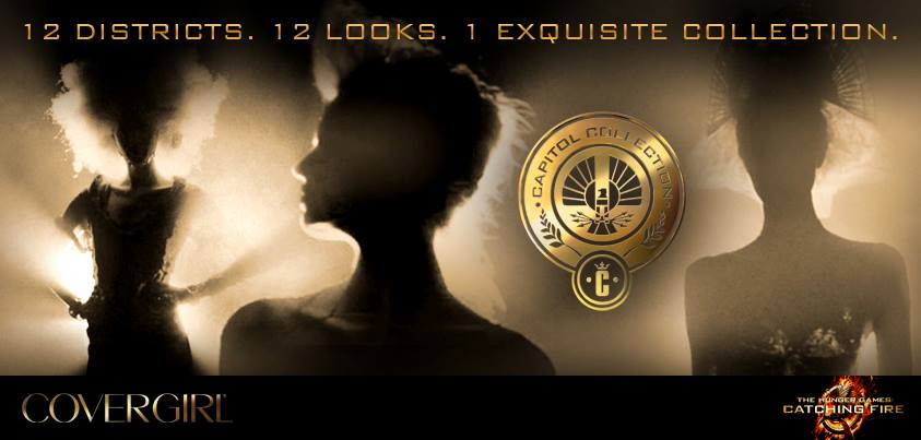 Catching Fire Covergirl Capitol Collection Promo