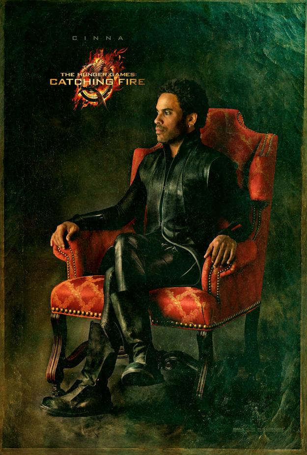 Catching Fire Poster Featuring Cinna Katniss and Cinna in Latest Catching Fire Posters