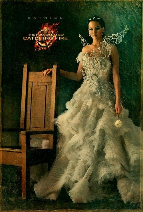 Catching Fire Poster Featuring Katniss Katniss and Cinna in Latest Catching Fire Posters