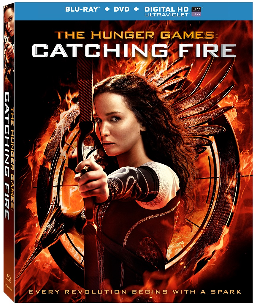 CatchingFire BD CoverArt The Hunger Games: Catching Fire Coming to Home Release March 7