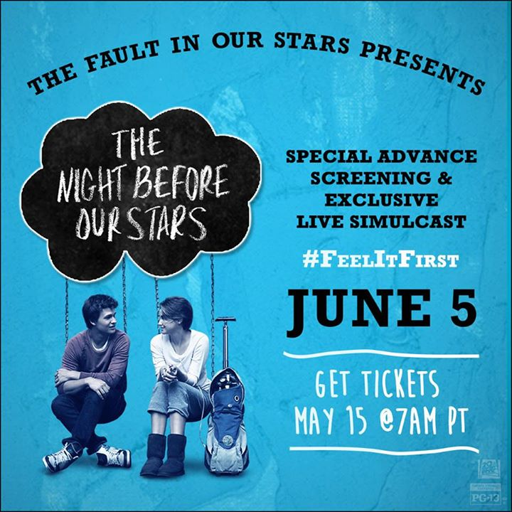 Celebrate The Fault In Our Stars with Advanced Screening and QA Celebrate The Fault In Our Stars with Advanced Screening and Q&A