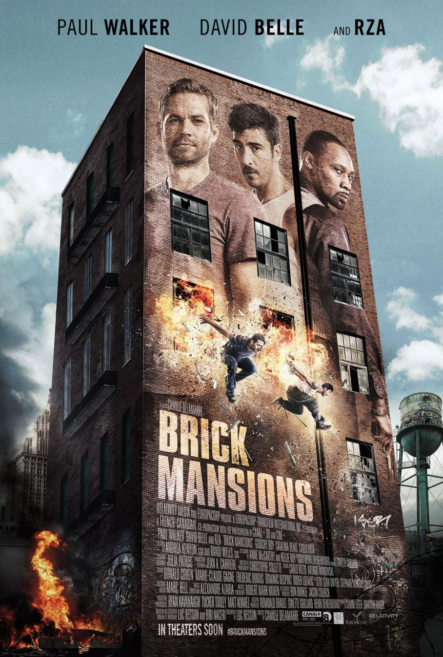 Check Out the Action In Official Brick Mansions Official Trailer