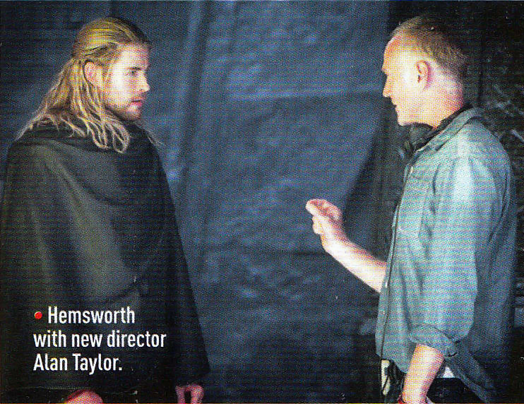 Chris Hemsworth Thor The Dark World Director