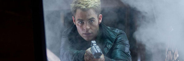 Chris Pine in Star Trek Into Darkness