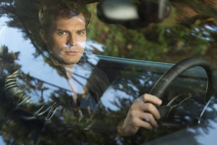 Christian Grey  still from Fifty Shades of Grey