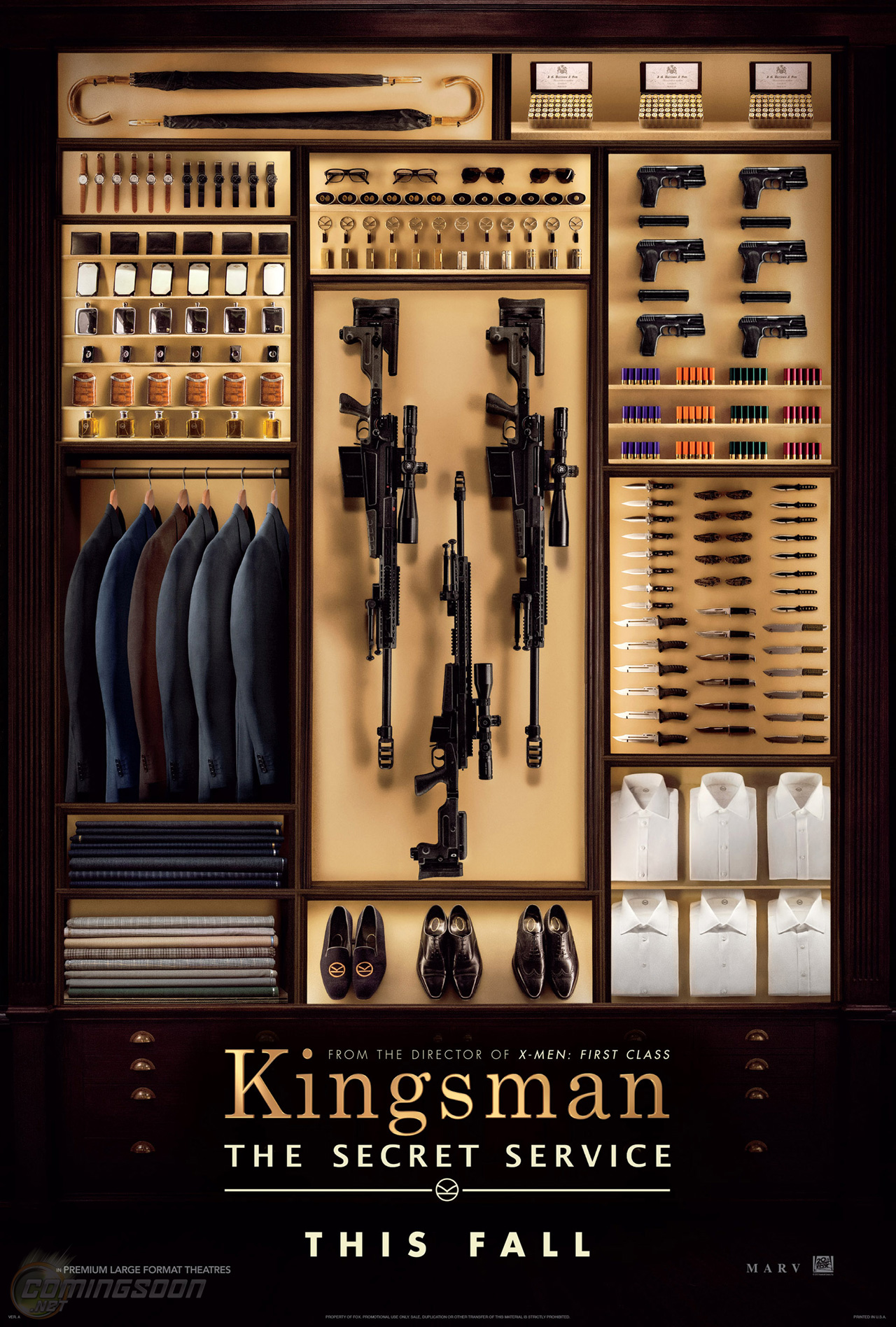 Colin Firth Is a Super Spy in Kingsman The Secret Service First Trailer Colin Firth Is a Spy in Kingsman: The Secret Service First Trailer