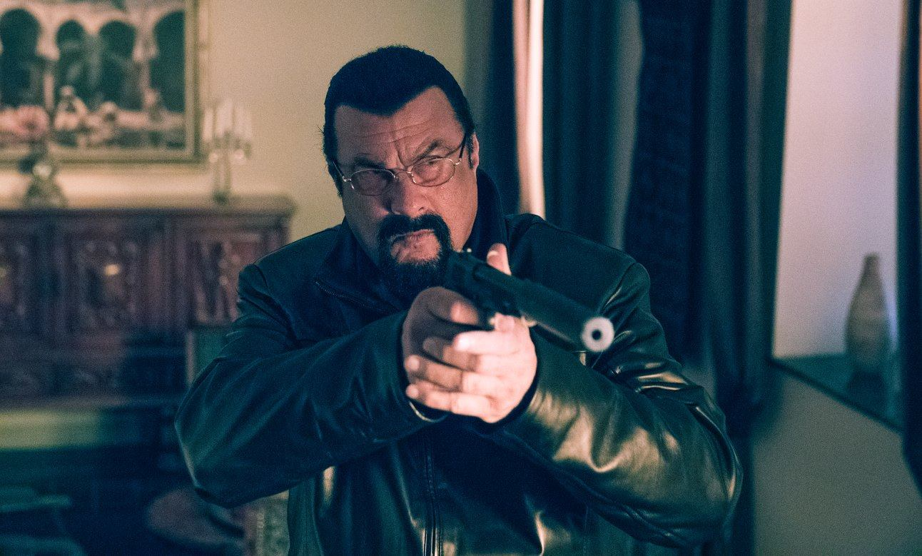 Steven Seagal Has a Contract to Kill in Action Film's Exclusive Photo Gallery