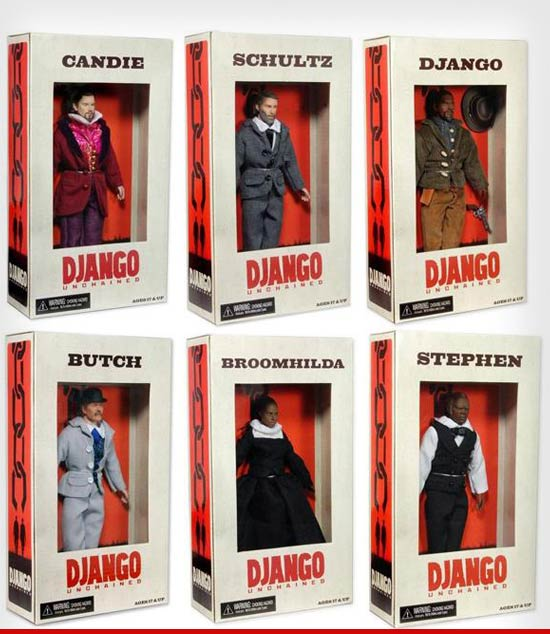Controversial Django Unchained Action Figures Pulled From Shelves Controversial Django Unchained Action Figures Pulled From Shelves