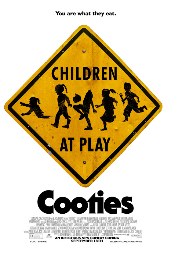 Cooties' New Teaser Poster Warns Elijah Wood to Fight a Child Zombie Epidemic