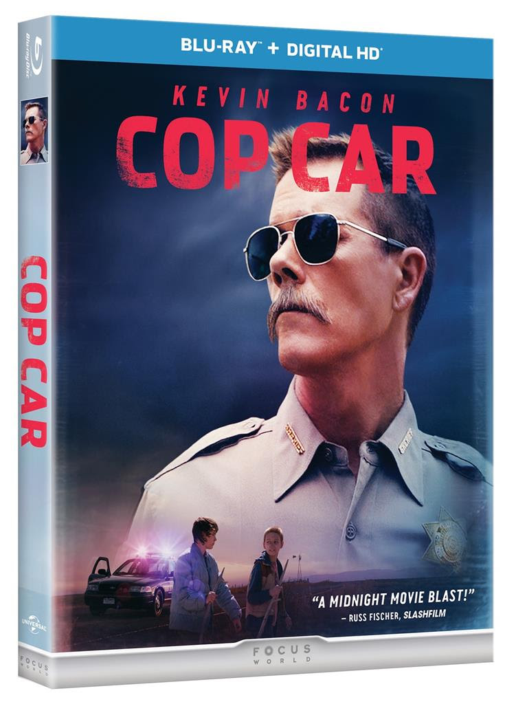 Cop Car Blu Ray