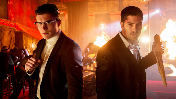 D.J. Cotrona and Zane Holtz Revive Brotherly Bond During From Dusk Till Dawn: The Series Season 3 Set Visit