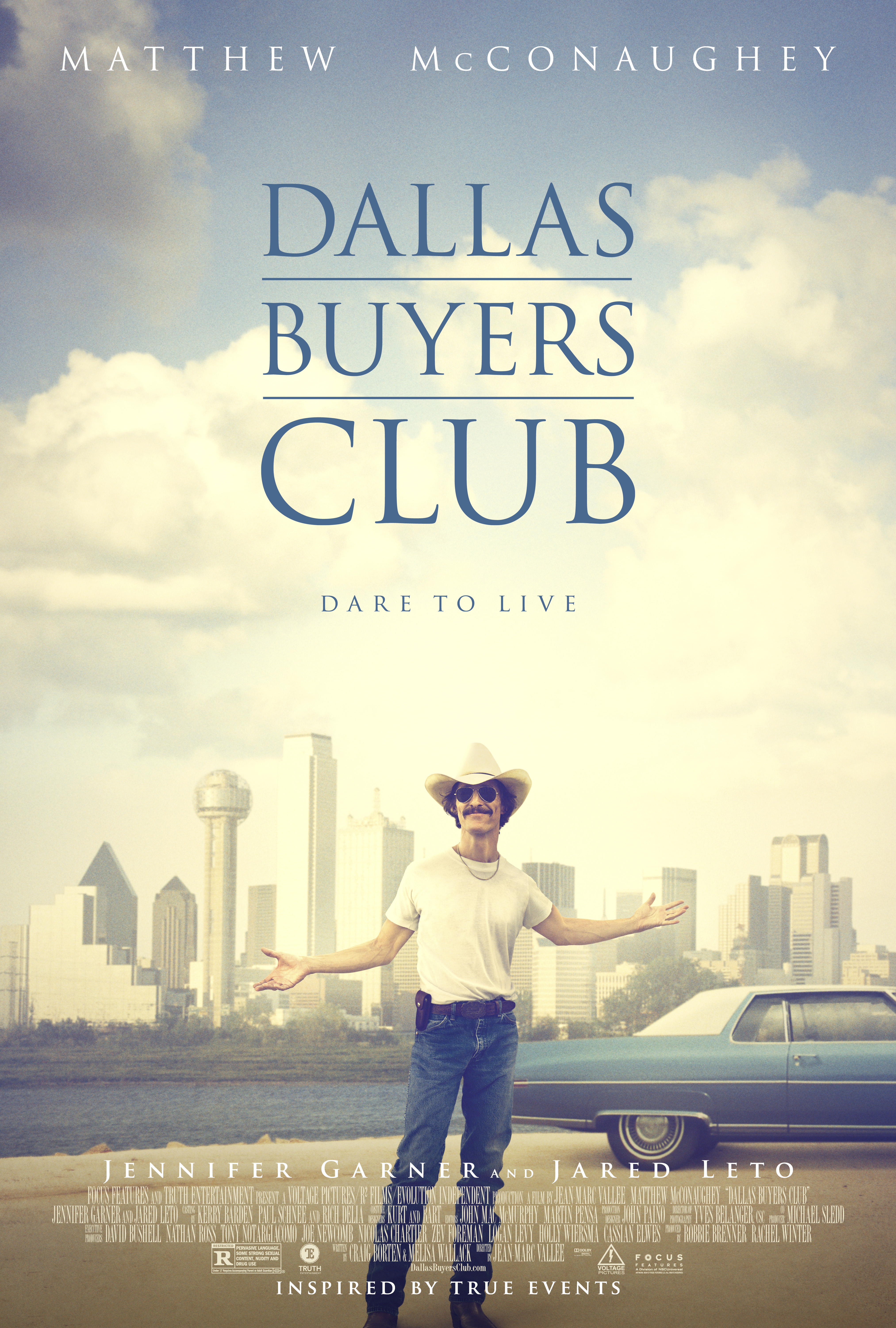 DBCOS 156 V7 Dallas Buyers Club Receives New Official Poster and Clips