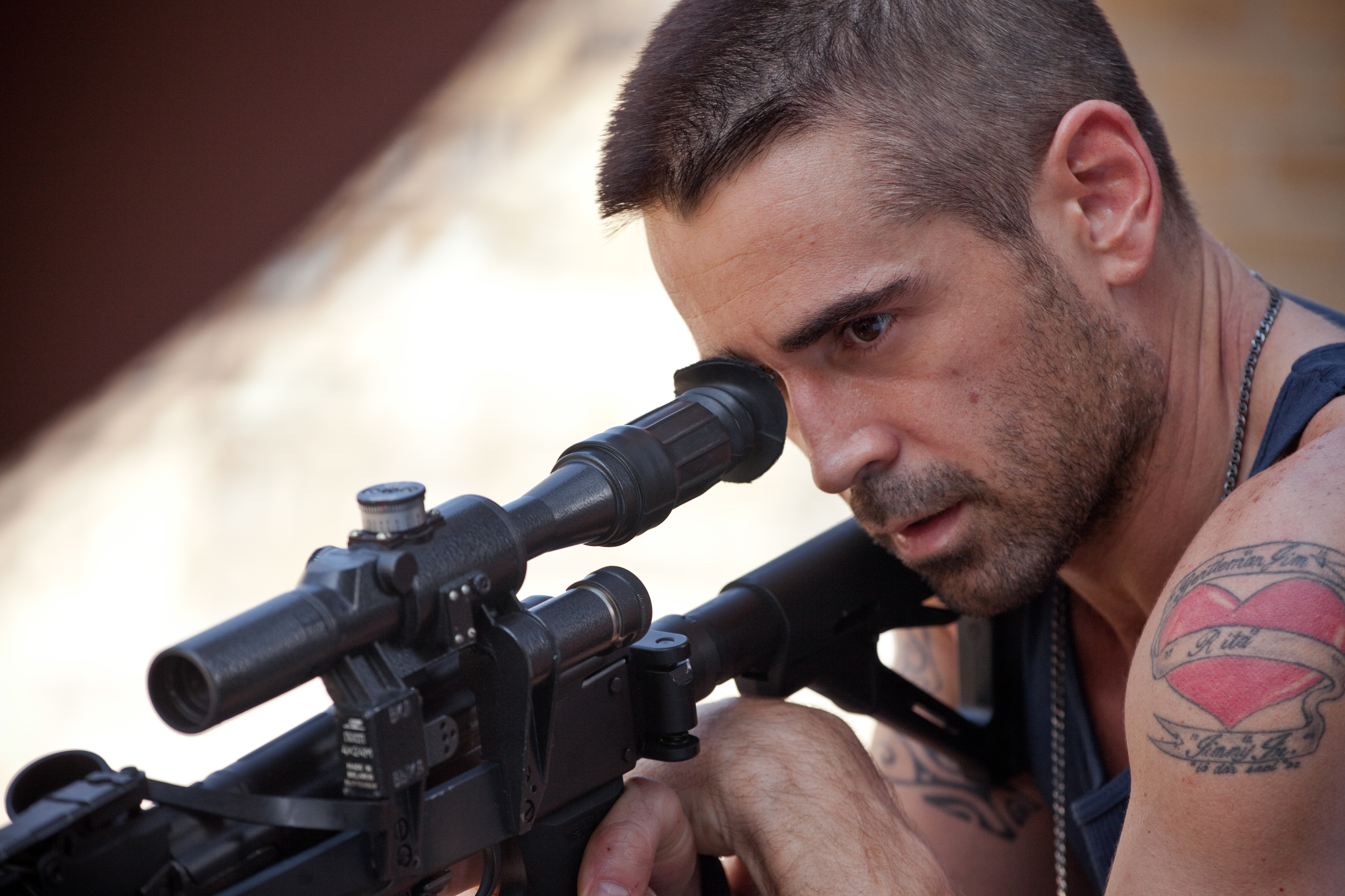 DEAD MAN DOWN Colin Farrell Gun Get Your Revenge in New Dead Man Down Video Clip and Photos