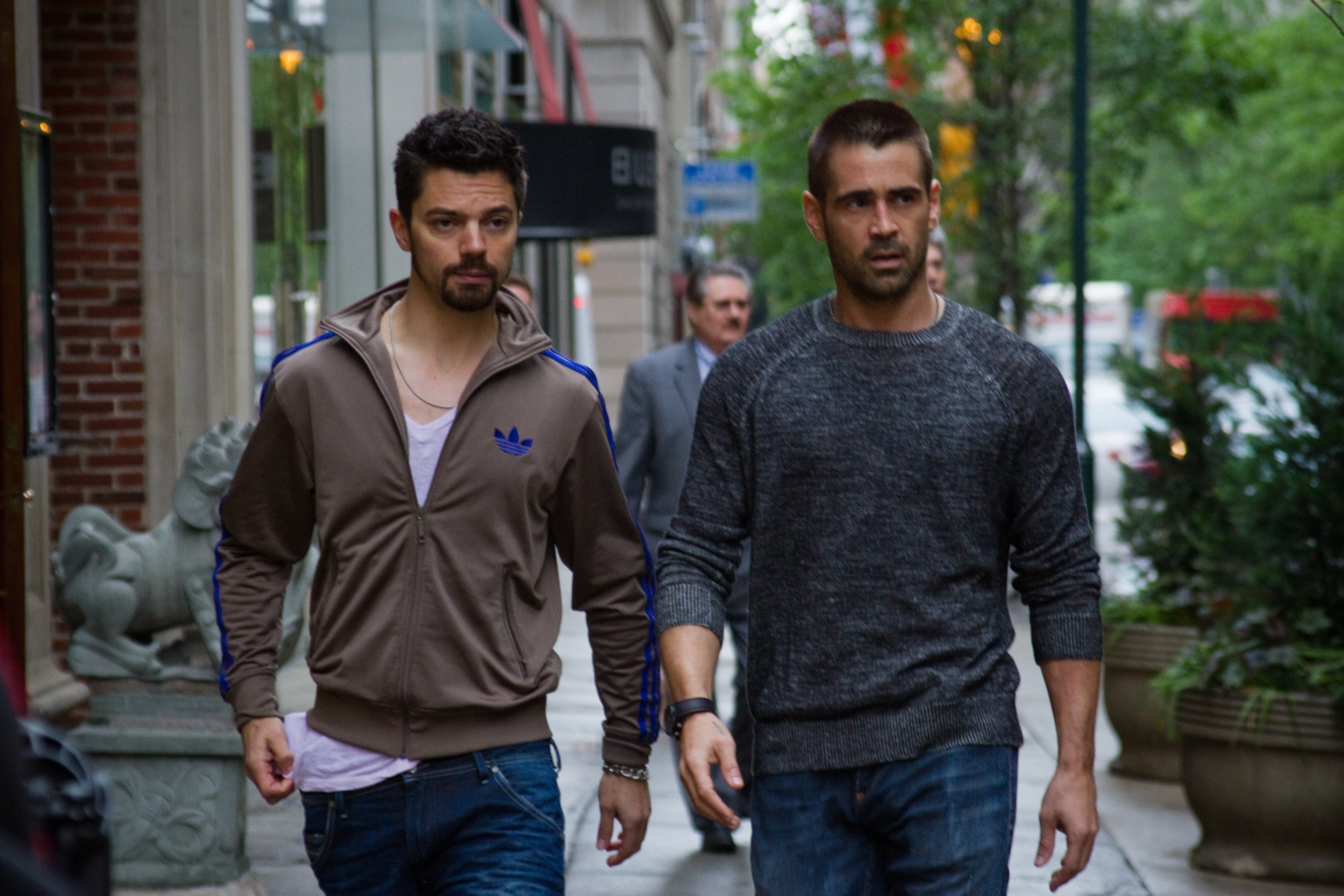 DEAD MAN DOWN Dominic Cooper and Colin Farrell  Get Your Revenge in New Dead Man Down Video Clip and Photos