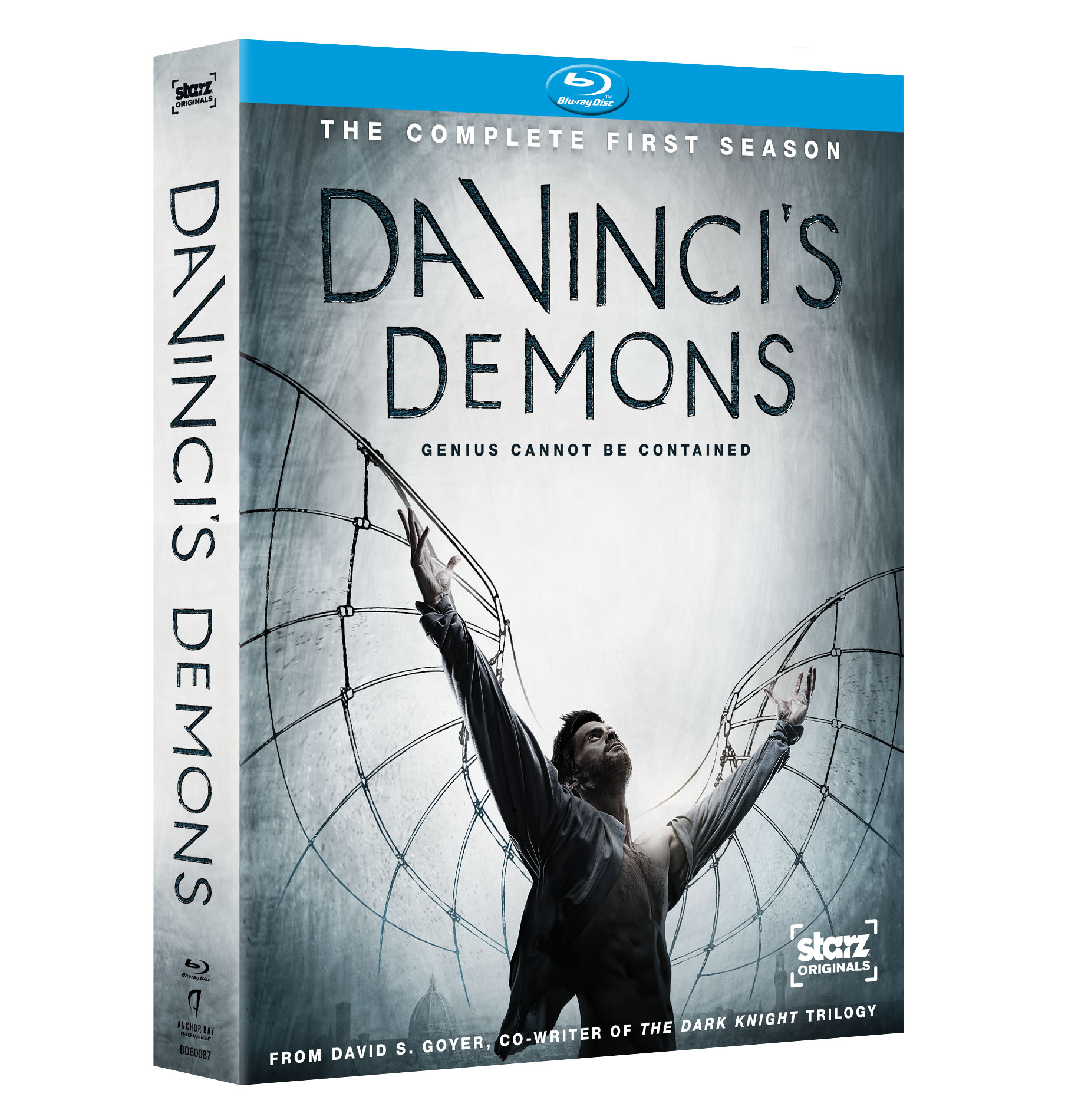 Da Vincis Demons BD 3D Da Vincis Demons The Complete First Season Coming to DVD and Blu ray Sept. 3
