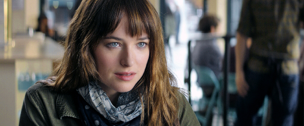 Dakota Johnson as Anastasia Steele in Fifty Shades of Grey Mr. Grey Will See You Now In First Fifty Shades of Grey Trailer