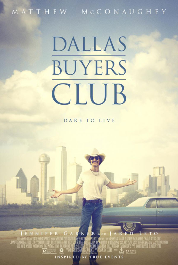 Dallas Buyers Club Poster Dallas Buyers Club Movie Review
