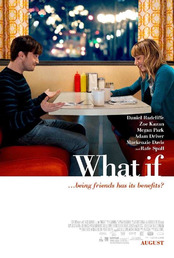 Daniel Radcliffe Is In the Friends Zone In First Official Trailer For What If Daniel Radcliffe Is In the Friends Zone In First Official Trailer For What If
