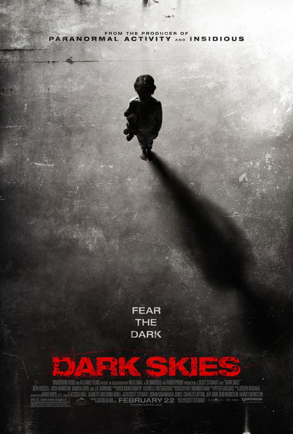 Dark Skies Poster Dark Skies Movie Review