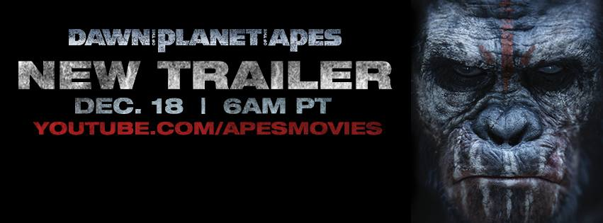 Dawn of the Planet of the Apes Trailer Notice New Instagram Teaser for Dawn of the Planet of the Apes Released