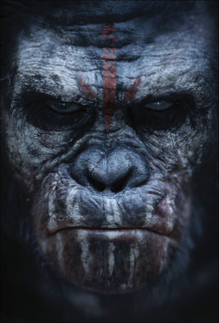 Dawn of the Planet of the Apes poster 02 Enter the Dawn of the Planet of the Apes with Official Poster