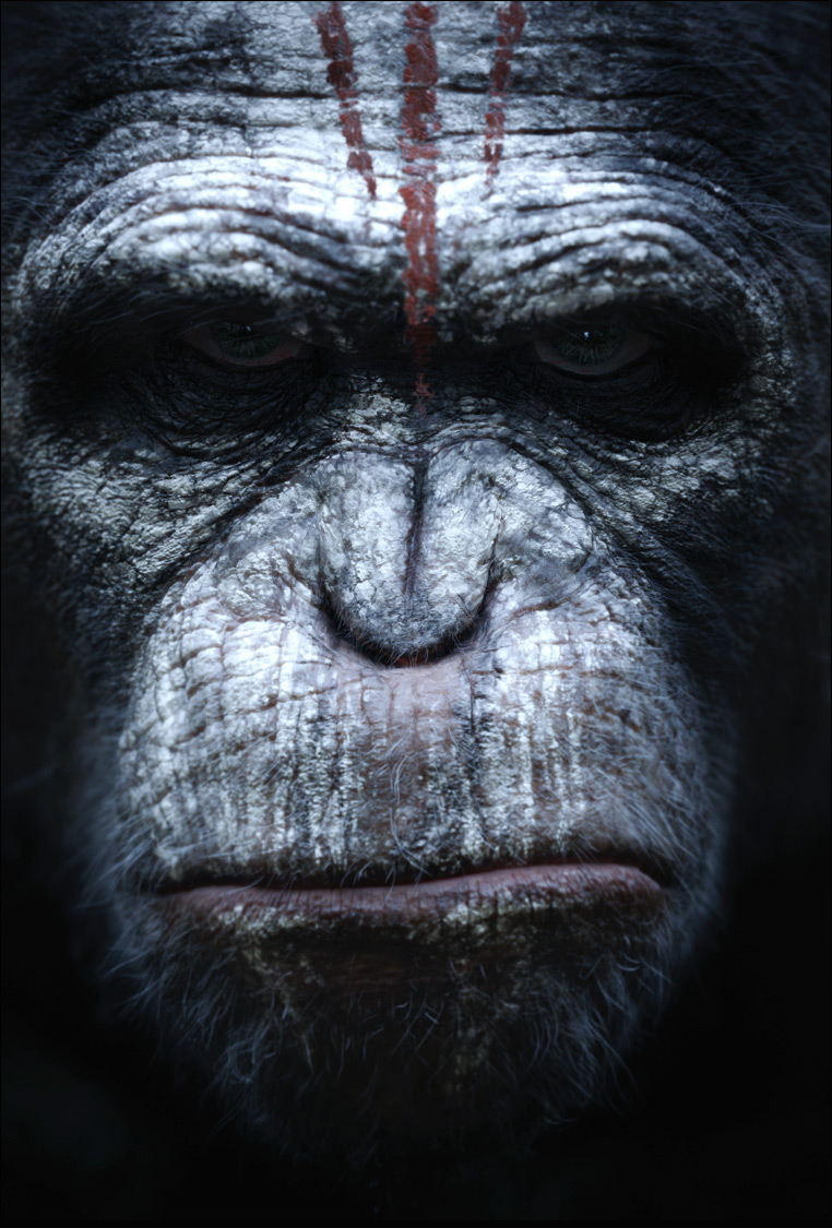 Dawn of the Planet of the Apes poster 03 Enter the Dawn of the Planet of the Apes with Official Poster