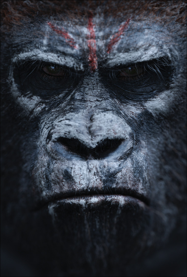 Dawn of the Planet of the Apes poster 04 Enter the Dawn of the Planet of the Apes with Official Poster