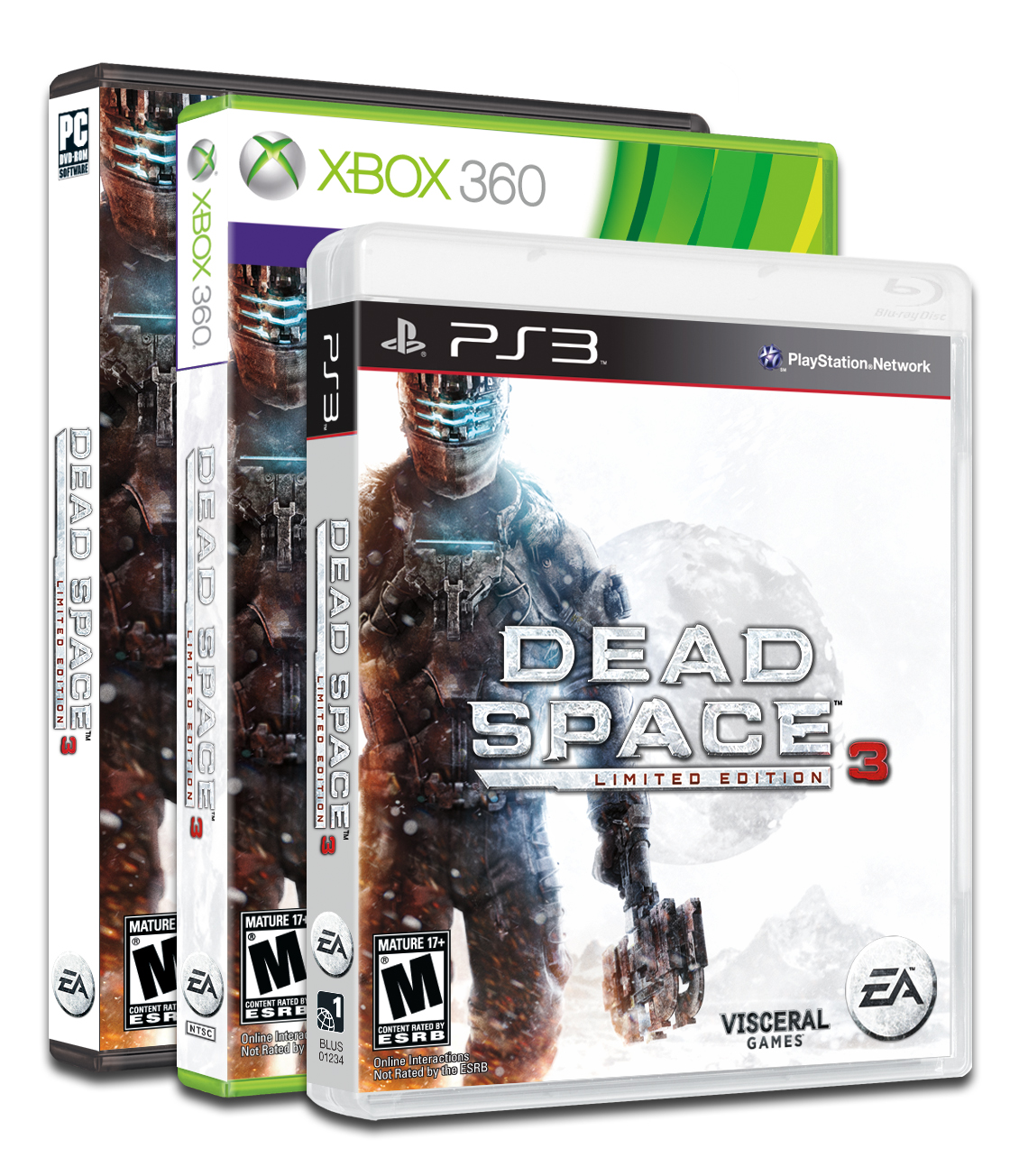 Dead Space 3 boxart Win Dead Space 3 From ShockYa!