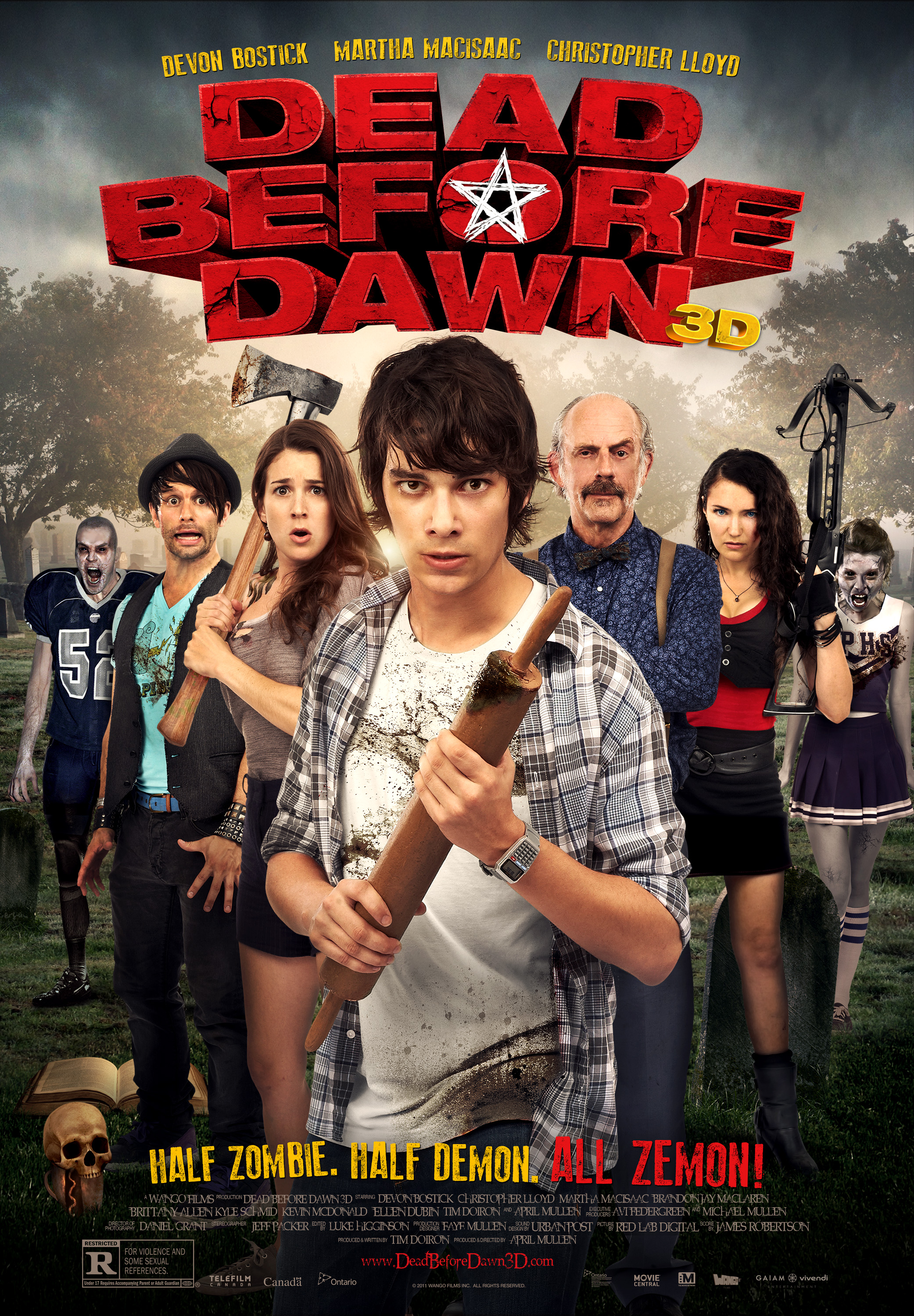 Cool Clip From Dead Before Dawn 3D Pits Teens Against Zombie Demons