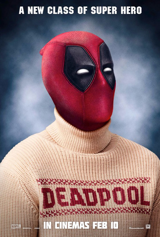 Deadpool Celebrates Christmas with Red and Green Trailers