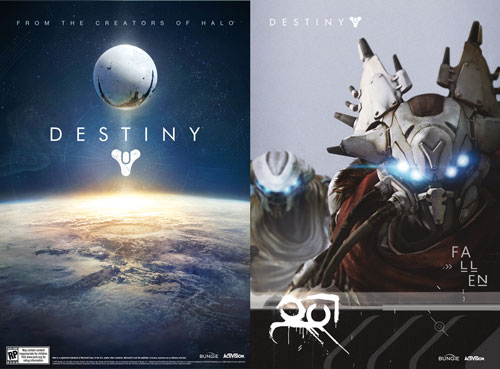 Destiny Gamestop Two sided Poster GameStop Giving Away Exclusive Poster for Destiny Pre Orders