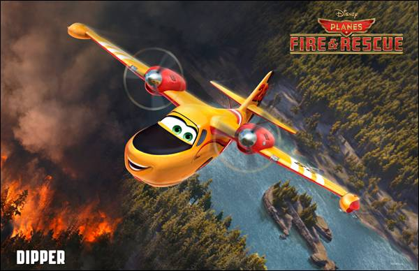 Dipper Planes Poster Planes: Fire & Rescue New Character Posters Take Flight