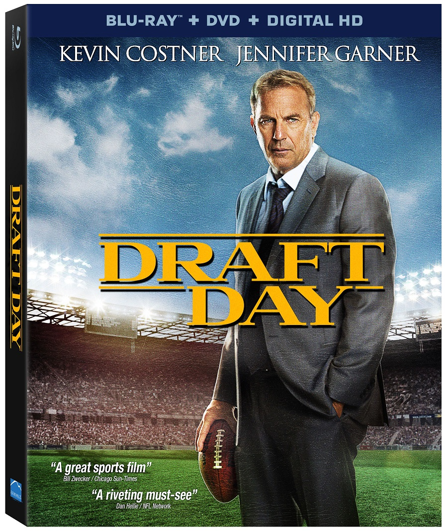 DraftDay BD skew Exclusive: Clip from Draft Day Goes Behind the Scenes