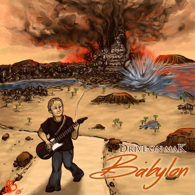Drive On Mak Babylon EP Cover