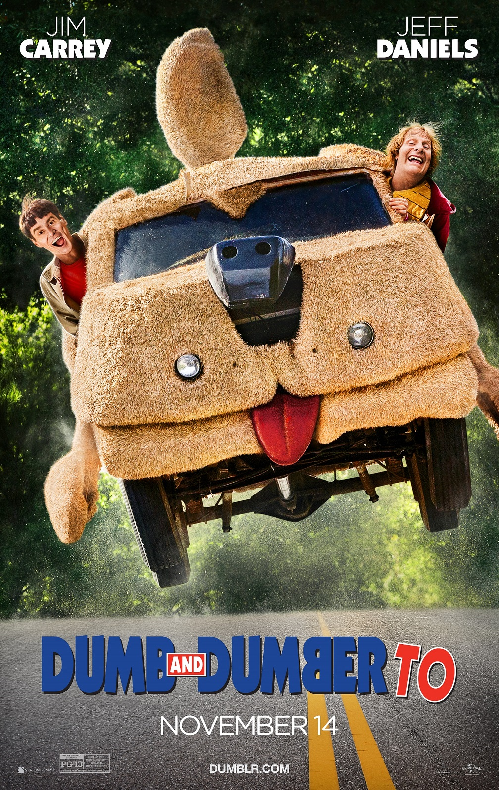 Dumb and Dumber To Poster Dumb and Dumber To Trailer and Poster and Hilarious Photos Released