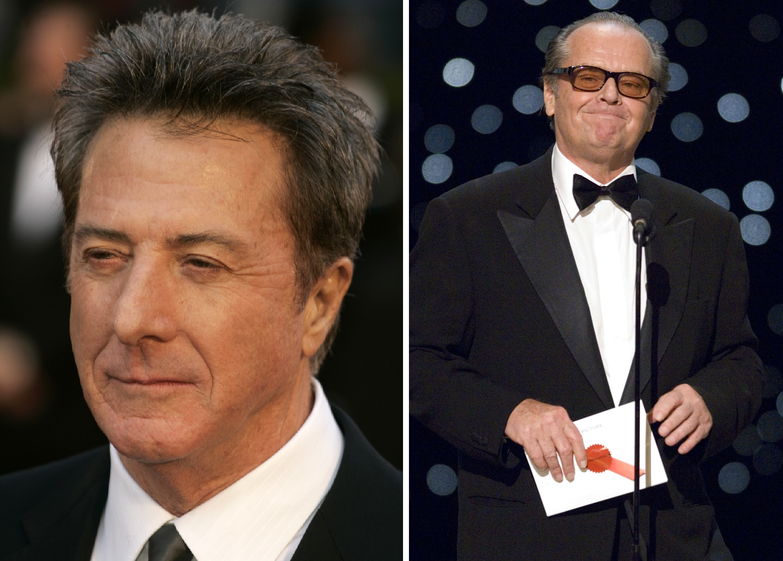 DustinHoffmanJackNicholsonOscars Dustin Hoffman And Jack Nicholson To Present At The Oscars