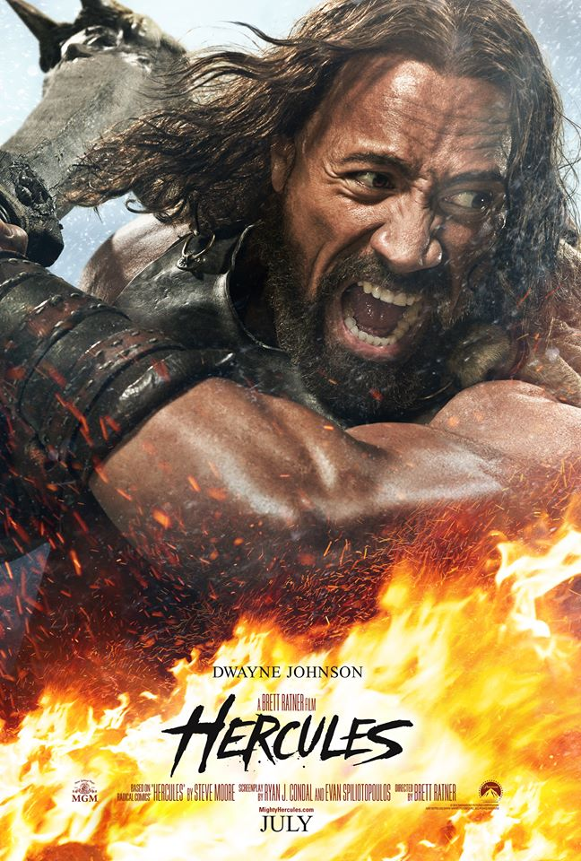 Dwayne Johnson Hercules Hercules Battles Huge Beasts in New Trailer