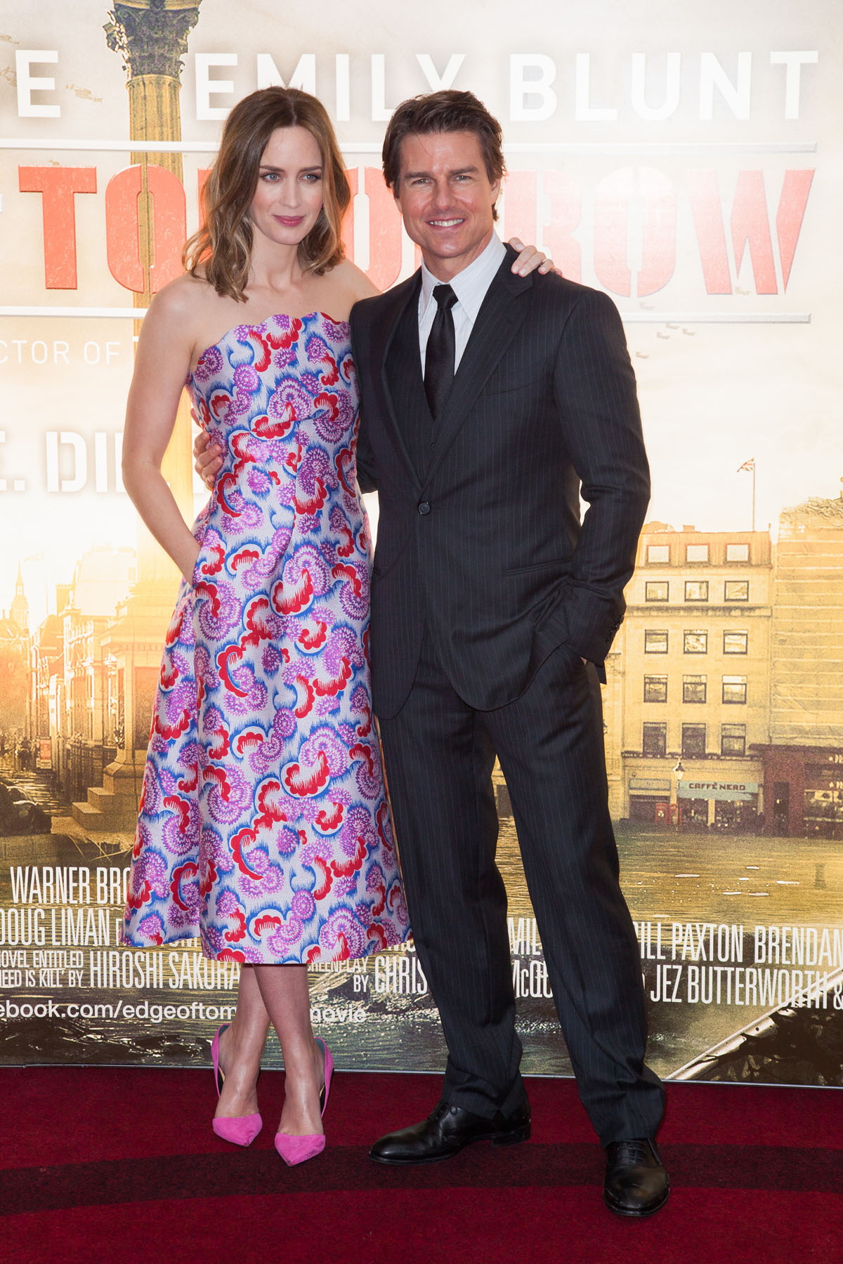 EOT PR London 298 New Pictures from the Edge of Tomorrow Red Carpet Event Plus a New 13 Minute Video
