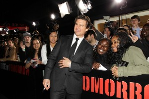 "The New York Fan Premiere of ""EDGE OF TOMORROW"""